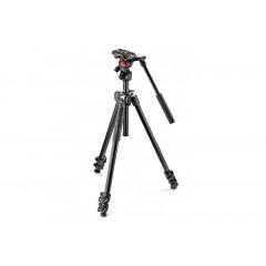 Manfrotto 290 Light Video Incl. Live Fluid Head MK290LTA3-V
