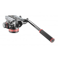 Manfrotto MVH502AH Pro Video Head - Flat Base - Msize