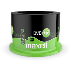 Maxell DVD+R 120/4.7GB Spindle 50 16X