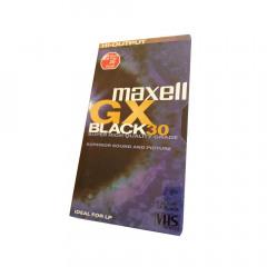 Maxell VHS GX-030 Single 30min
