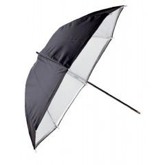 Falcon Eyes Paraplu Diffuus Wit + Zwarte Hoes 80cm