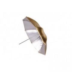 BIG Helios paraplu 100cm goud/zilver wisselbaar