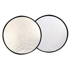 Linkstar Reflectiescherm 2 in 1 R-110SW Silver/White 110cm