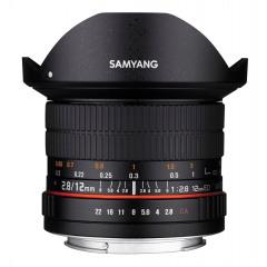 Samyang 12mm F2.8 ED AS NCS fisheye Fuji X