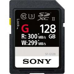 Sony 128GB SDXC UHS-II G Series R300 W299