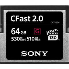 Sony CFast 2.0 64GB G R530 W510   VPG130
