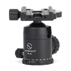 Sunwayfoto FB-36II Screw-Knob Clamp Classic Ball Head