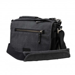 Tenba Cooper 8 Bag Grey Canvas / Black Leather