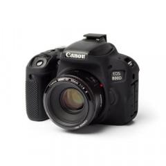 easyCover for Canon EOS 800D Black Camera case