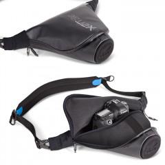 Miggo Agua 45 Pro SLR Black Blue Storm Proof Tas