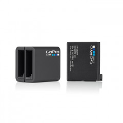 GoPro Dual Battery Charger + Battery (HERO/5/6 Black)