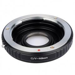 BIG Contax/Yashica Objectief naar Nikon cameras