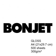 Bonjet Glanzend A4 500 vel Atelier 300g
