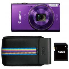 Canon IXUS 285 HS Purple Essentials kit