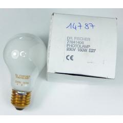 Dr. Fischer Photolamp 230V 150W E27