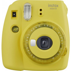 Fujifilm Instax Mini 9 Clear Yellow instant camera