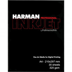 HARMAN GLOSS BARYTA Professional Inkjet Paper A4 - 210x297mm 30 sheets