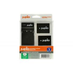 Jupio CFU1000 USB Charger + 2x Fujifilm NP-W126S