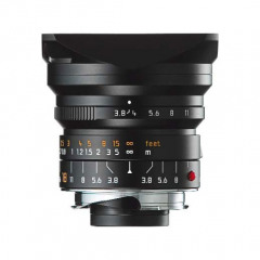 Leica 11649 SUPER-ELMAR-M 18mm f/3.8 ASPH black anodized
