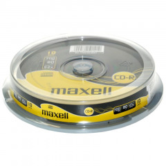 Maxell CD-RW 80 700MB 1-4X Spindle 10