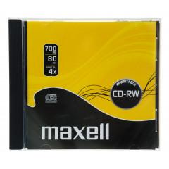 Maxell CD-RW 80 700MB Jewel Case 1-4X