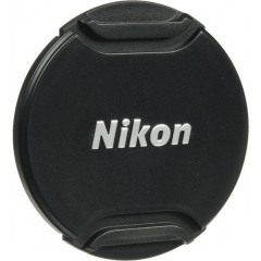 Nikon LC-N55 Lensdop Zwart 55mm