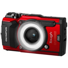 Olympus TG-5 Red LG-1 Kit