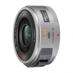 Panasonic 14-42mm f3,5-5,6 PZ silver