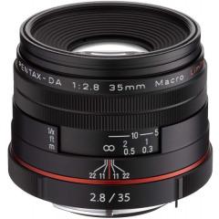 Pentax DA 35mm Macro f/2.8 Limited Zwart