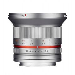 Samyang 12mm F2.0 NCS CS Sony E-mount zilver