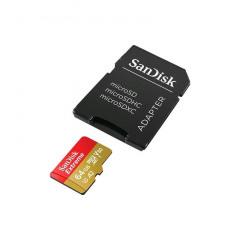 SanDisk MicroSDXC Extreme 64GB 160mb/60mb U3 V30 A2