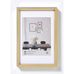 Walther Design Plastic Frame Steel Style 50x60cm Goud