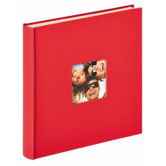 Walther Design Zelfklevend Album Fun 33x34cm Rood SK-110-R