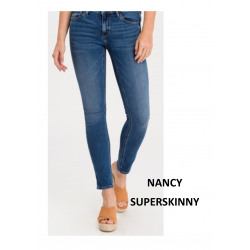 NANCY SUPERSKINNY MID BLUE