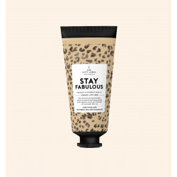 The Gift Label Handlotion tube Stay Fabulous