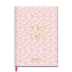 Notitieboek La vie est belle A5 / Rice