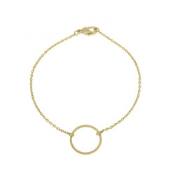 Armbandje Timi Small circle gold
