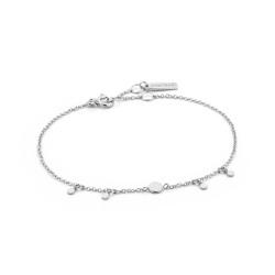 Ania Haie Geometry Drop discs bracelet