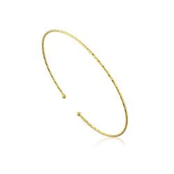 Ania Haie Texture thin bracelet