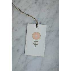 Gift tag poppy