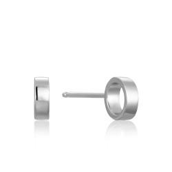 Ania Haie Open circle stud earrings