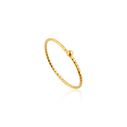 Ania Haie Texture small ball ring