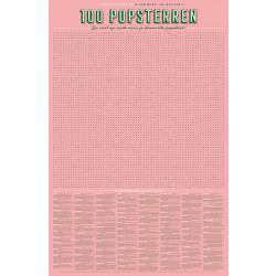 XL Spelposter 100 popsterren