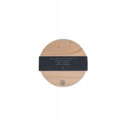 Onderzetters hout met tekst / Zusss