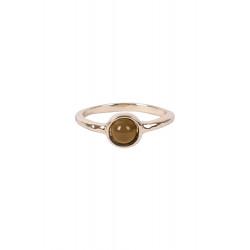 Ring met steentje Zusss / goud