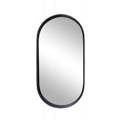 Spiegel metaal/ovaal Zusss