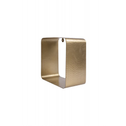 Wandrek Zusss metaal/vierkant/goud