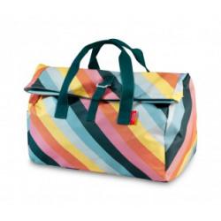 Weekendtas Engel / Flip Stripe Rainbow