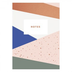Graphic pattern notebook Timi