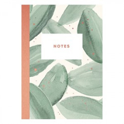 Green leaves notebook Timi